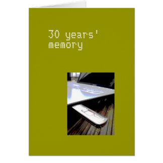 30 år kort