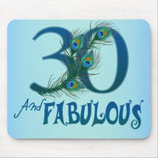 30års födelsedag Mousepads Musmatta