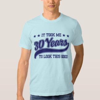 30års födelsedag t-shirts