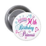 30års födelsedagPrincess Knapp Med Nål