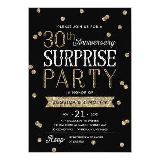 30th Party för överrrakning för 12,7 X 17,8 Cm Inbjudningskort