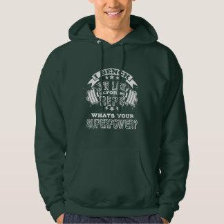 """""""315 för 2) manar för Reps"""" (grundläggande Hooded Sweatshirt"""