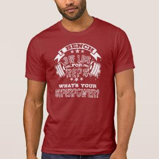 """""""315 för för dräktrund hals för Reps"""" (2) T-tröja T Shirts"""