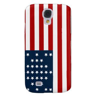 33 flagga för inbördeskrig för stjärnafortSumter a Galaxy S4 Fodral