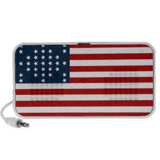 33 flagga för inbördeskrig för stjärnafortSumter a Notebook Högtalarsystem