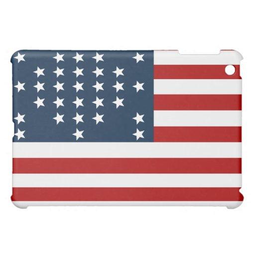 33 flagga för inbördeskrig för stjärnafortSumter a iPad Mini Mobil Skal