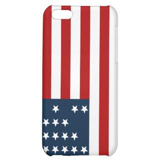 33 flagga för inbördeskrig för stjärnafortSumter a iPhone 5C Mobil Fodral