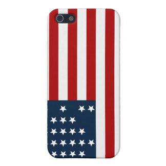 33 flagga för inbördeskrig för stjärnafortSumter a iPhone 5 Fodral