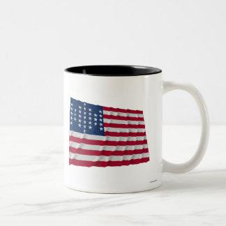 33 stjärnaflagga, mönster för fortSumter garnison Kaffe Koppar