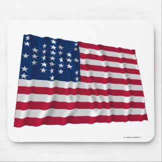 33 stjärnaflagga, mönster för fortSumter storm Mus Mattor