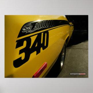 340 Plymouth dammtrasa Poster