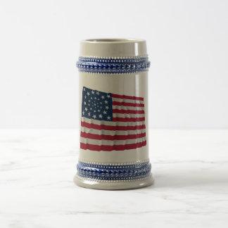34 stjärnaflagga, kranmönster, outliers kaffe muggar