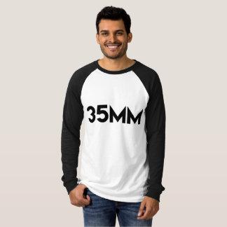 35mm baseballutslagsplats t-shirts