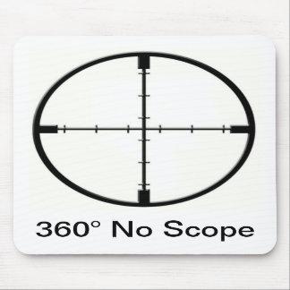 360 vadderar ingen mus för räckviddvideospelskämt  musmatta
