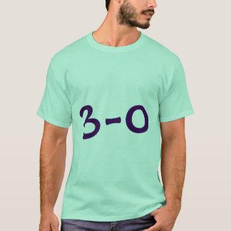 3 - 0 skjorta t shirt