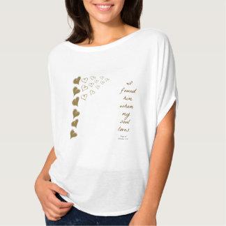 3:4 för sånger för hjärtor för kristen t-skjorta tee shirt