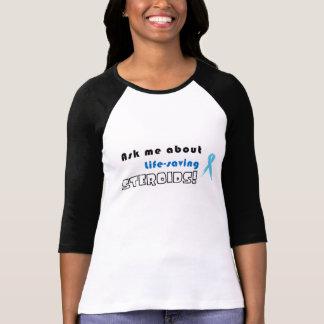 3/4 sleever: Fråga mig om Liv-Besparingen T Shirts