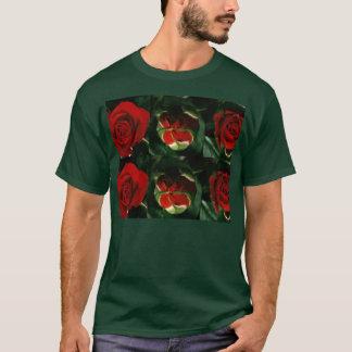 3 arrangerar av ROblomma: Underbara LYCKLIGA T-shirts