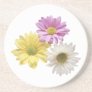 3 blommor underlägg