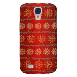 3 - Crimson design Galaxy S4 Fodral
