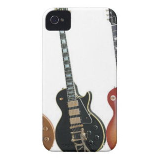 3 ELEKTRISKA GITARRER iPhone 4 Case-Mate FODRAL