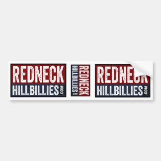 3 i bondlurkar för 1 Redneck pricker Bildekal