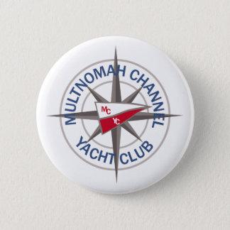 """3"""" logotypen knäppas med kompasslogotypen för MCYC Standard Knapp Rund 5.7 Cm"""