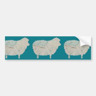 3 sheeps bildekal