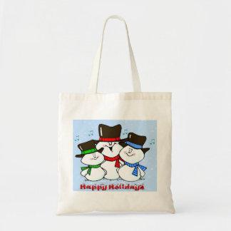 3 sjungande snögubbear