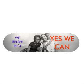 3a05278r JA KAN VI OSS BELIVE I U Skate Decks