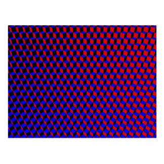 3D boxas raster: Vykort
