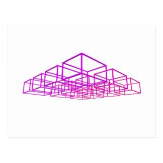 3D boxas: Vykort