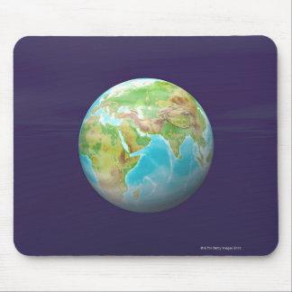 3D jordklot 11 Musmatta