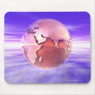 3D jordklot 17 Musmatta