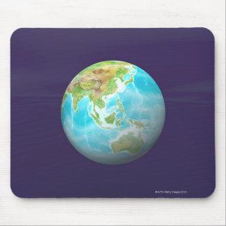 3D jordklot 6 Musmatta
