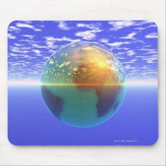 3D jordklot 9 Musmatta