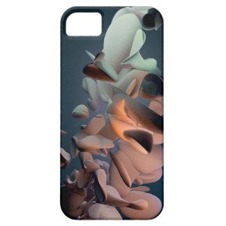 3D organisk geometri #1 - färger - iPhone 5 Fodral