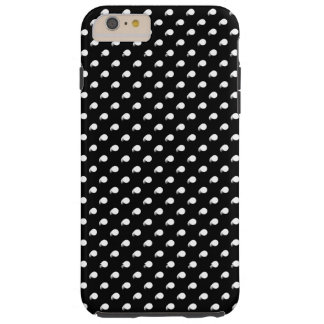 3D skräddarsy polka dots Tough iPhone 6 Plus Fodral