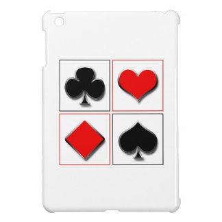 3D som leker kortkostymer iPad Mini Skal