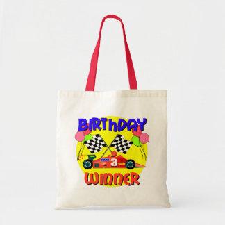 3rd Födelsedag för födelsedagtävlingbil Kassar
