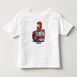 3rd Födelsedagen avfyrar lastbilen Tee Shirts