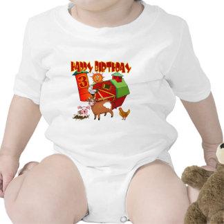 3rd Födelsedaglantgårdfödelsedag T-shirts
