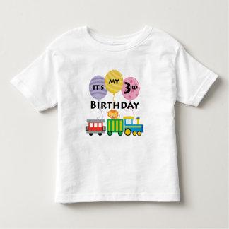 3rd Födelsedagtågfödelsedag Tee Shirts