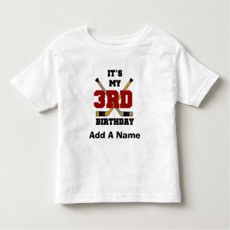 3rd födelsedagTshirts och gåvor för hockey T Shirt