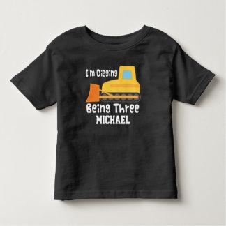 3rd T-tröja för lastbil för Tshirts