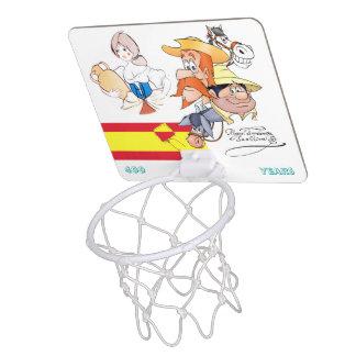 400 år universitetslärareQuixote @QUIXOTEdotTV Mini-Basketkorg