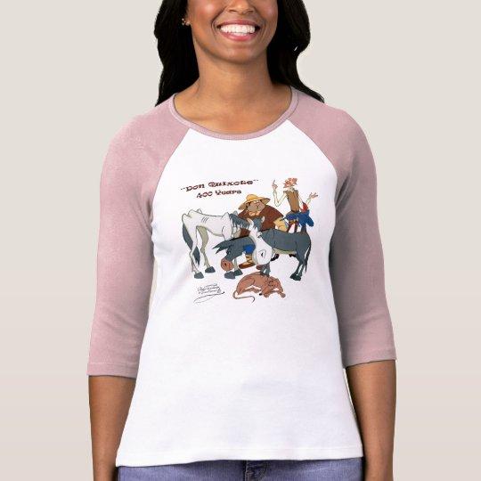 400 år universitetslärareQuixote @QUIXOTEdotTV Tee Shirt