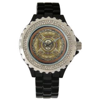 [400] Mictlantecuhtli - Aztec gud av död Armbandsur