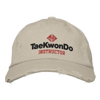 408 Tae Kwon gör instruktörhatten Broderad Keps