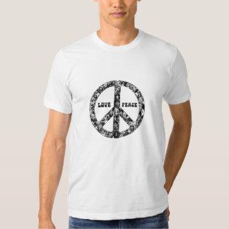 40 år av kärlek och fred t shirt